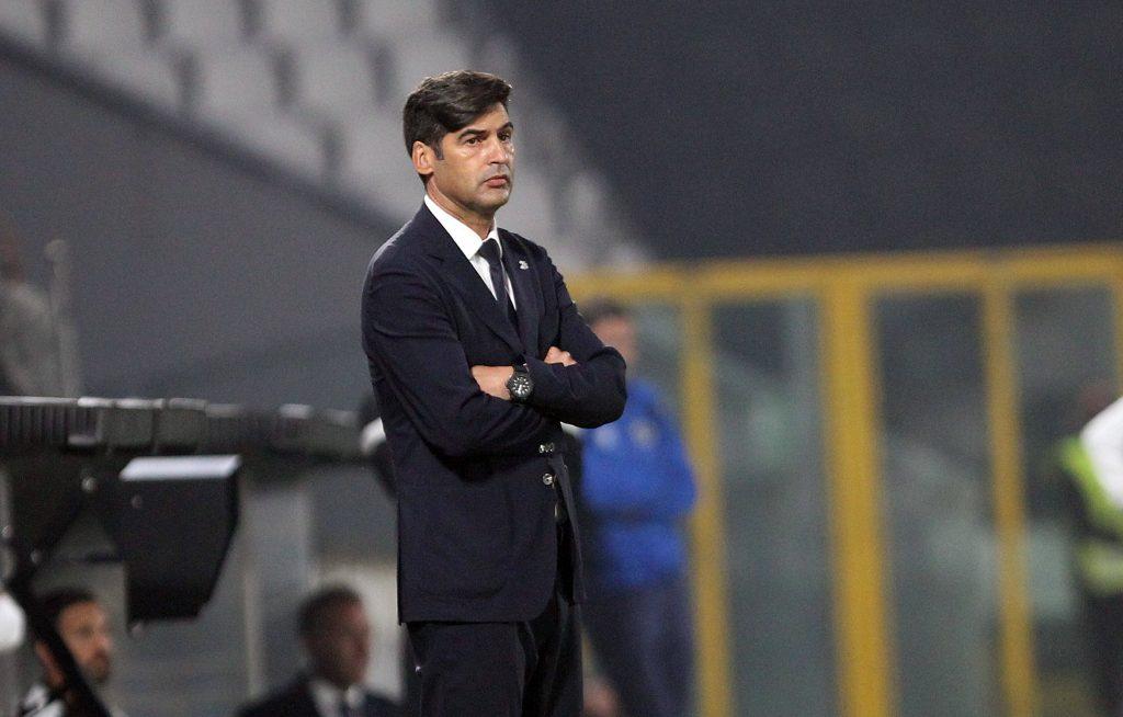 Paulo Fonseca alla sua ultima apparizione sulla panchina della Roma